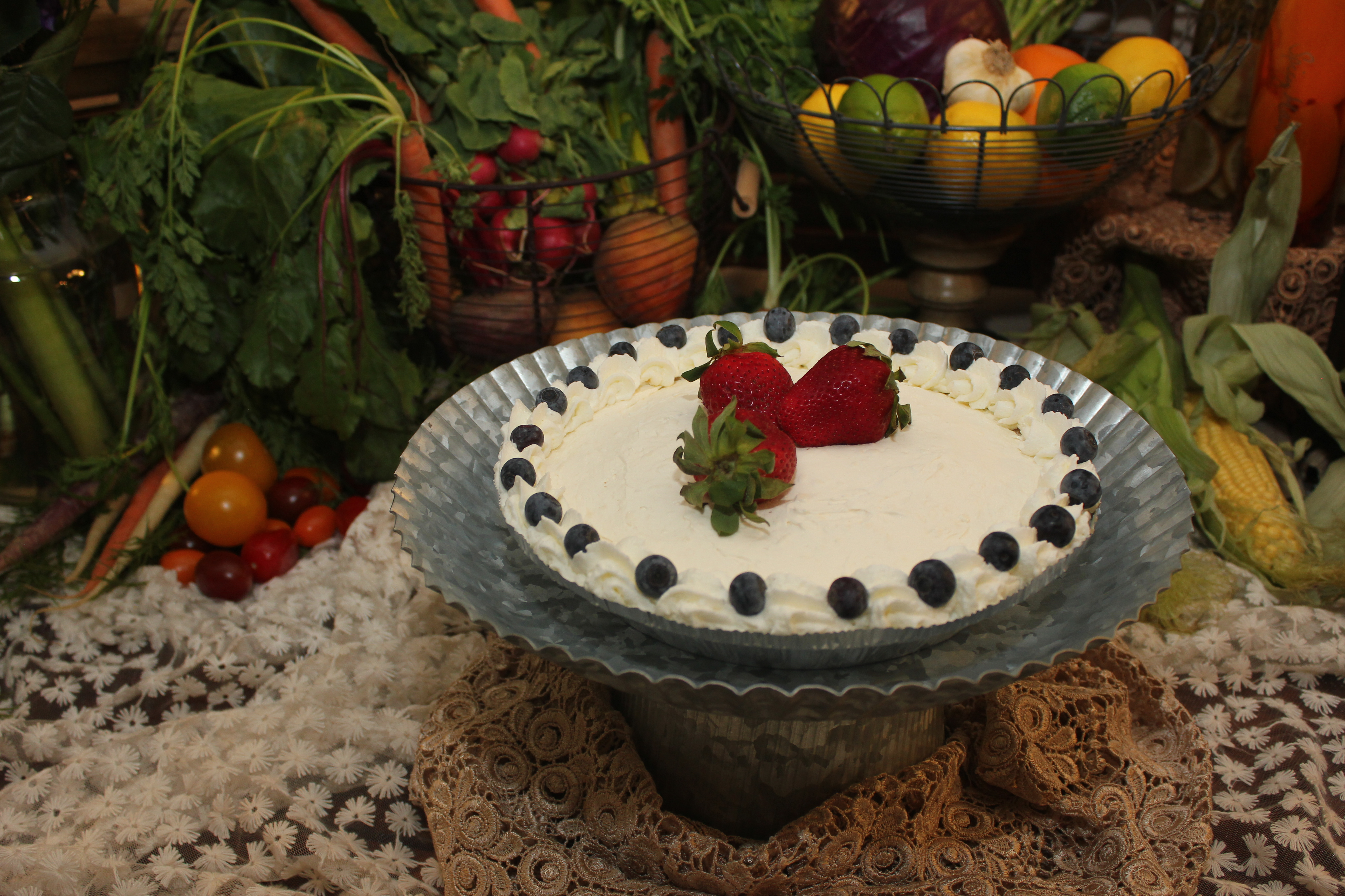 Plain ol cheesecake can be dressed up with fresh fruits or even made into a turtle cheesecake! Get creative with this cheesecake and share with friends and family!