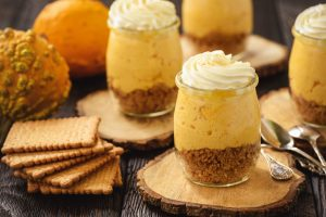 Pumpkin Spice No-Bake Cheesecake Mix